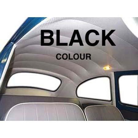 VW Beetle HEADLINER/ 58-67 BLACK