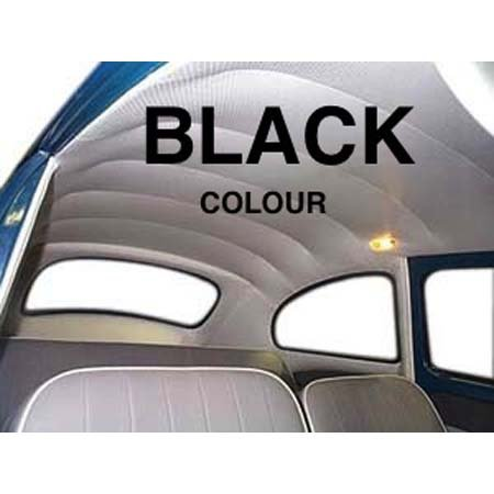 VW Beetle HEADLINER/ 68-77 BLACK