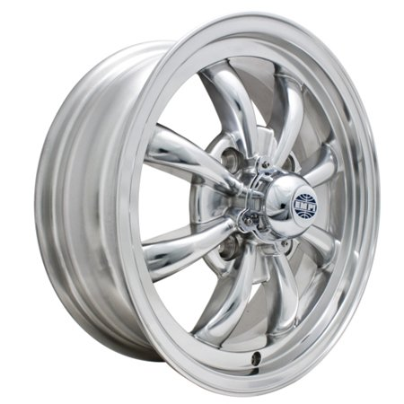GT-8 spoke alloy wheels POLISHED  4x 130