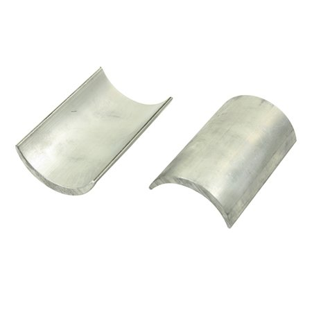 Aluminium Caster Shims. SOLD AS Pair
