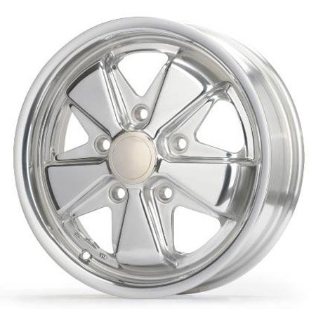 911 Porsche Fuchs style alloys 17 inch ALL CHROMED 5x130