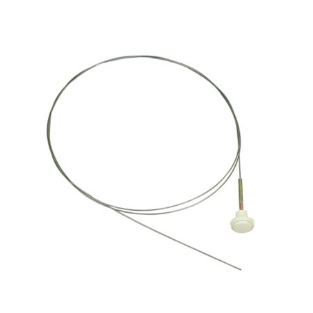 Hood Release Cable with white Knob,