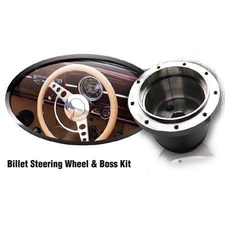 Sidewinder Performance Billet Steering Wheel Boss Kit