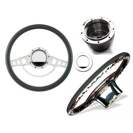 "Sidewinder Billet Steering Wheel Set ""Classic"""
