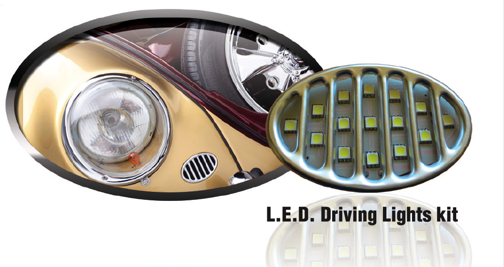 L.E.D. Driving lights PAIR